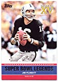 Jim Plunkett 2011 Topps Super Bowl Legends #SB:-XV - Oakland Raiders
