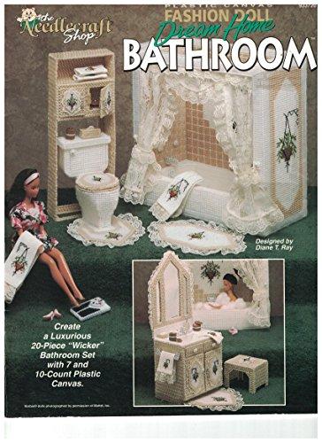 - Plastic Canvas Fashion Doll Dream Home Bathroom 933720