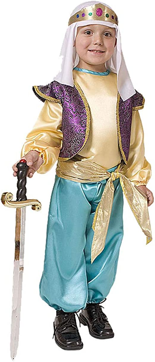 Arabian Sultan Costume Headpiece Adult Men Standard