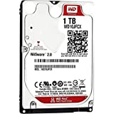 WD Red 1TB NAS Hard Disk Drive - 5400 RPM Class SATA 6 Gb/s 16MB Cache 9.5 MM 2.5 Inch - WD10JFCX