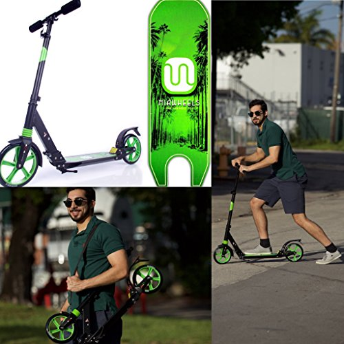 MIAWHEELS Foldable Aluminium Kick Scooter