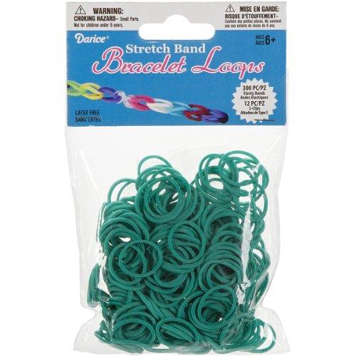Darice 312 Piece Stretch Bracelet Turquoise