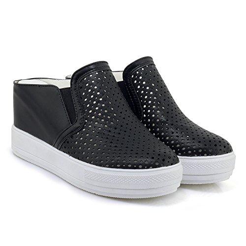 Cómodo De Sling Señoras Block Heels Calzado High Moda Pumps Black Back 4dYH8Hxw