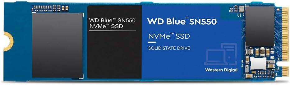 Amazon.com: Western Digital 2TB WD Blue SN550 NVMe Internal SSD - Gen3 x4  PCIe 8Gb/s, M.2 2280, 3D NAND, Up to 2,600 MB/s - WDS200T2B0C: Computers &  Accessories