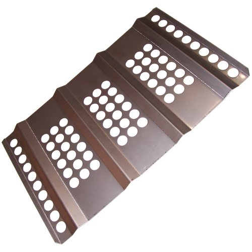 Music City Metals 96201 Stainless Steel Heat Plate Replacement for Select Steelman Gas Grill Models ()