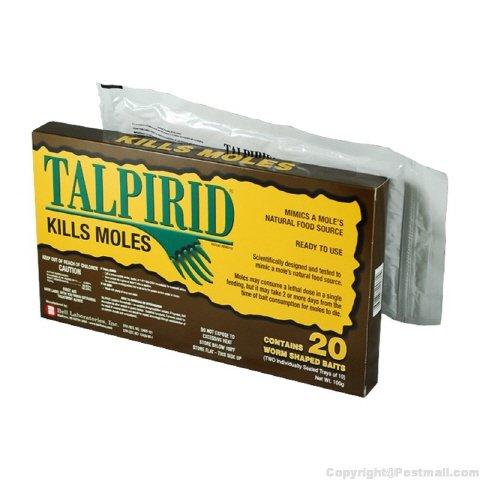Talprid Mole Bait 1 Pack (20 worms)
