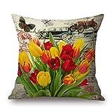 Alphadecor Plant Throw Pillow