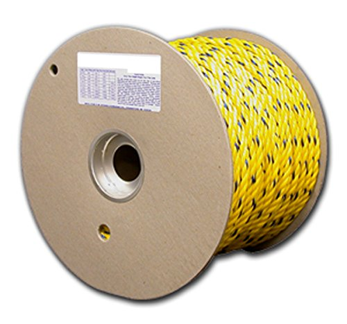 600 Foot Yellow Poly Rope - 9