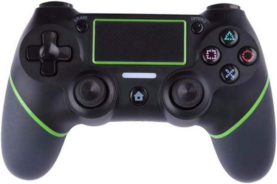 PerfectGaming Controlador inalámbrico para PS4 Controlador inalámbrico Doble vibracion Controlador de Juego con Cable de Carga Libre. Bluetooth Joystick Gamepad,Green