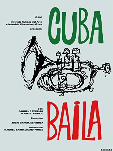 (Posters Universe 16x20 Poster Decoration.Room Interior Art Design.Cuba Baila Dances Trumpet.7593)