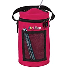 ArtBin 6831AG Mini Yarn Drum Knitting & Crochet Tote Bag, Raspberry