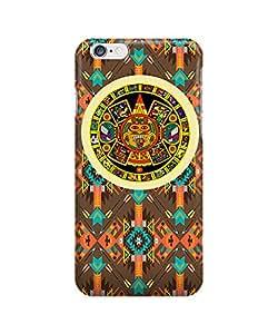 Seamles aztec geometric mandala Minority Totem- Funda Carcasa para Apple iPhone 6 plus
