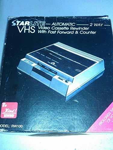 STARLITE AUTOMATIC 2 WAY VHS REWINDER by STARLITE