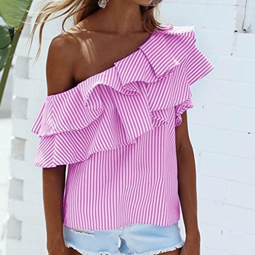 T Shirt Femme Court Courtes Bardot Style paules Top Volants OVERDOSE Chic Casual Chemises Blouse Rose Dnudes Sexy t Asymtrique Manches 4wn0qY