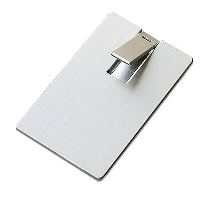 Flash Memory - Memoria USB para Tarjeta de Crédito 4 GB ...