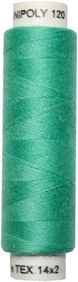 0552 Nähmaschinen Nähgarn 100 m Polyester UNIPOLY 14x2 blau