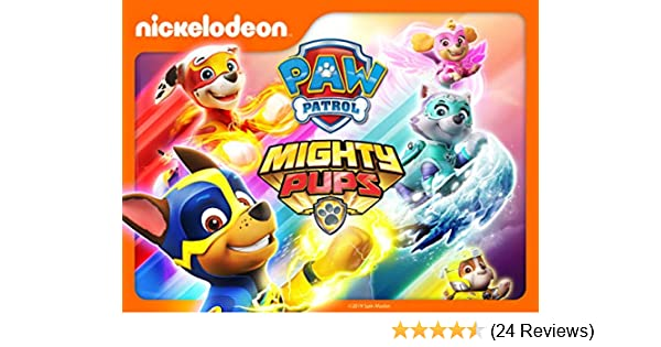 Watch paw patrol mighty pups full episode   NickALive