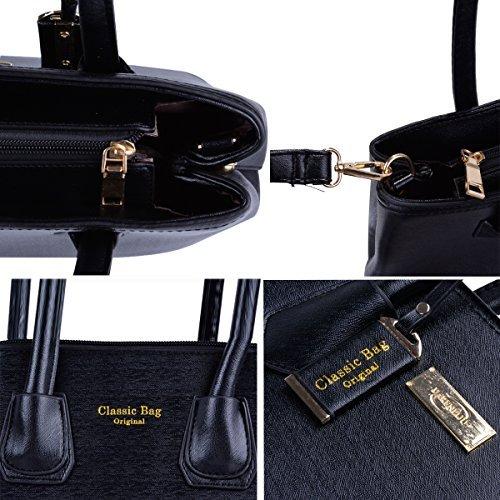 donne borse e borsette da donna borsetta a tracolla messenger bag 6set