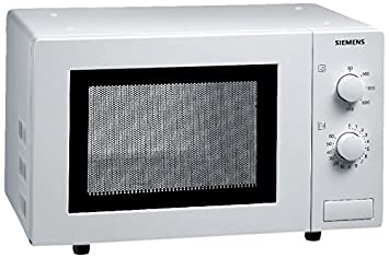 Siemens HF 12M240 - Microondas, 800 W, reloj integrado, color blanco