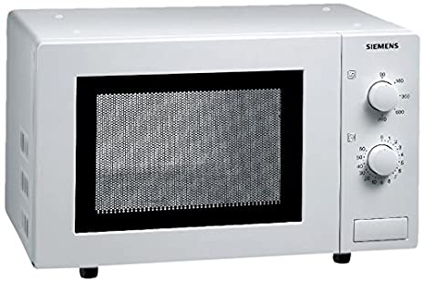 Siemens HF 12M240 - Microondas, 800 W, reloj integrado, color ...
