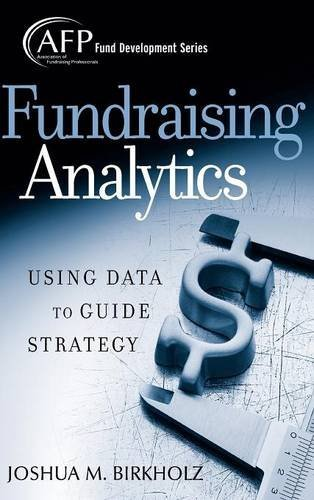 fundraising analytics using data to guide strategy pdf