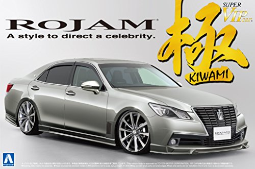1/24 Super VIPCAR Goku No.111 Rojamu 21 Crown Royal Saloon from Aoshima Bunka Kyozai