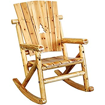Amazon Com Leigh Country Aspen Single Rocker With Pine