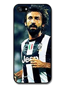 AMAF ? Accessories Andrea Pirlo Striped T shirt Italian Football case for iPhone 5 5S