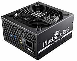 Enermax Platimax D.F. 80+ Platinum Certified Full Modular 500W Power Supply with Amazing DFR Technolohy, Individually Sleeved Cable and 13.9cm Twister Bearing Fan, EPF500AWT