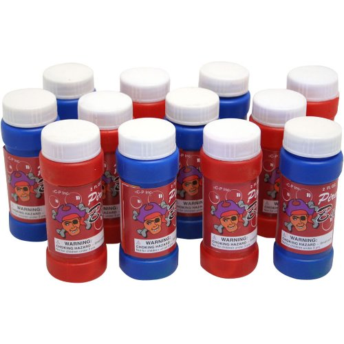 Pirate Bubbles : package of 12