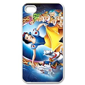 Steve-Brady Phone case Snow White Protective Case For Iphone 4 4S case cover Pattern-13
