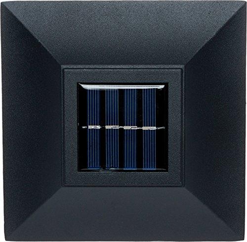 GreenLighting Aluminum Solar Post Cap Light 4x4 Wood or 5x5 PVC (Black, 4 Pack) by GreenLighting (Image #5)