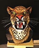 DeemoShop Carnival Party Supplies Masquerade Cosplay Leopard Panther Animal Head Latex Jaguar Mask