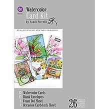 Prima Marketing 655350589943 Sp Watercolor Card Kit