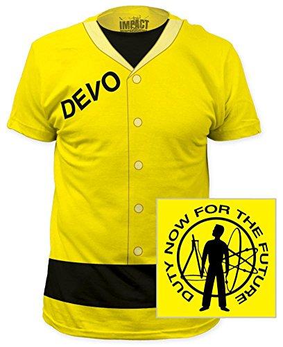 (Devo - Duty Now (slim fit) T-Shirt Size)
