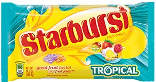 Bulk Buy: Starburst Tropical Fruit Chews, 14 Oz (3 Pack) by Starburst]()