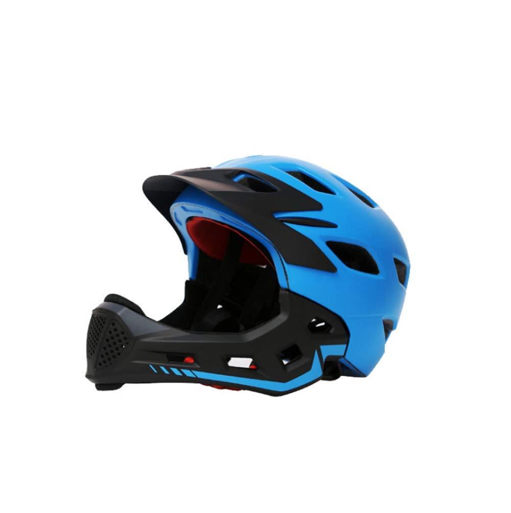 1-1 Abnehmbar Vollgesicht Helm Kinder Draußen Radfahren Berg Fahrrad Rolle Roller Sicherheit Hüte