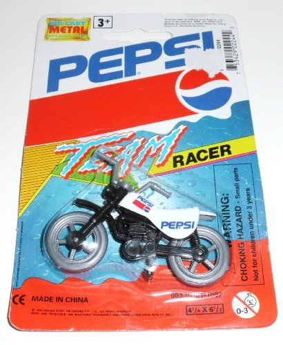 Pepsi Team Racer Motorcycle by Pepsi