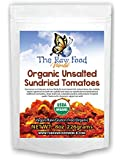 Organic Raw Sun-Dried Tomatoes (No Salt & Unsulphered), 8oz