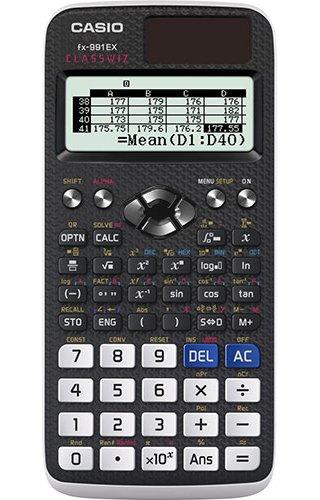 79 opinioni per Casio FX-991EX Calcolatrice Scientifica