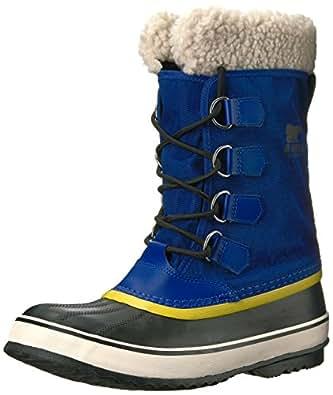 SOREL Women's Winter Carnival Snow Boot, Aviation, Black, 5 B US