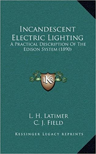 electric incandescent lighting by edwin james houston pdf