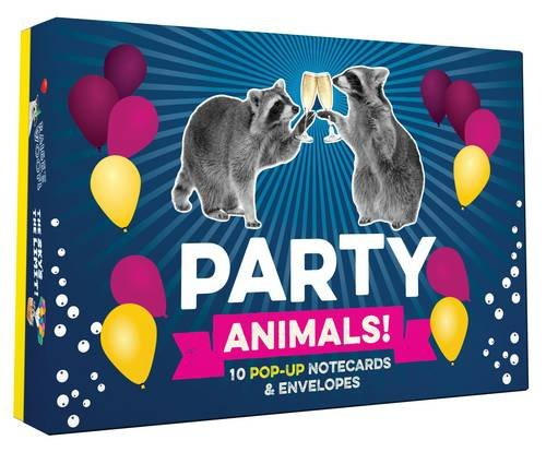 Party Animals Pop Up Notecards Envelopes product image