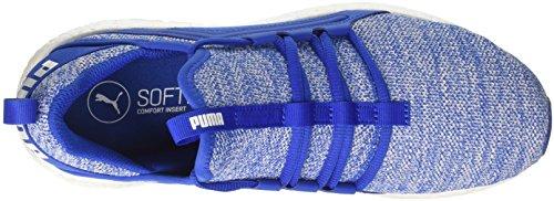 Puma Herren Mega Nrgy Breien Cross-trainer Blau (turks Zee-puma Wit)