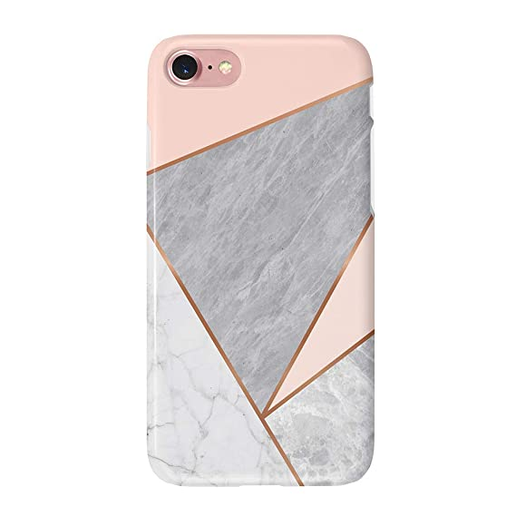 grey rose gold iphone 8 case