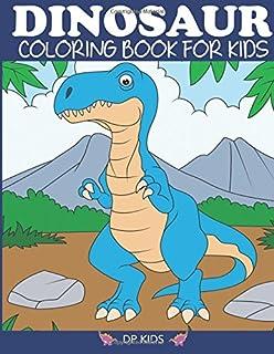 Dinosaur Coloring Book For Kids Fantastic Boys Girls Toddlers