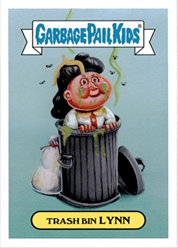 2016 Garbage Pail Kids Apple Pie American Inventors #1a Trash Bin Lynn