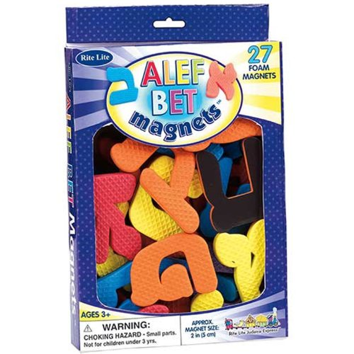 Rite Lite Alef Bet Foam Magnets by Rite - Magnets Bet