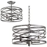 Miseno MLIT145382 Annata 3-Light Pendant / Ceiling Fixture (Convertible) with 72, Antique Nickel Review