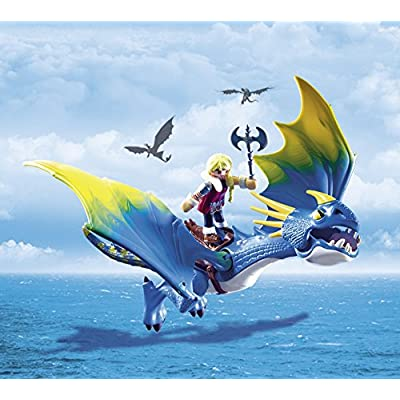 PLAYMOBIL Astrid & Stormfly: Toys & Games